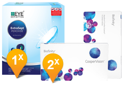 Biofinity & EyeDefinition ExtraSept Promo Pack