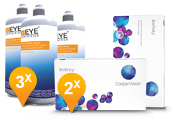 Biofinity & Soft Peroxide Solution Promo Pack