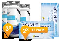 Acuvue Oasys Astigmatism & Pro-Vitamin B5 MPS Promo Pack