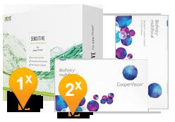 Biofinity Multifocal & EyeDefinition SENSITIVE Pack Promo