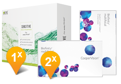 Biofinity Multifocal & Sensitive Plus Promo Pack