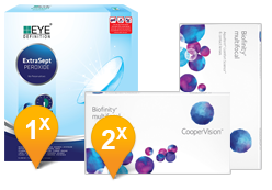 Biofinity Multifocal & EyeDefinition ExtraSept Pack Promo