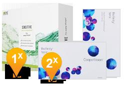 Biofinity Toric & EyeDefinition SENSITIVE Pack Promo