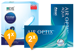 Air Optix Aqua & EyeDefinition ExtraSept Promo Pack