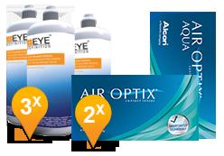 Air Optix Aqua & Soft Peroxide MPS Promo Pack