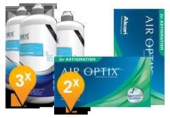 Air Optix Astigmatism & Pro-Vitamin B5 Pack Promo