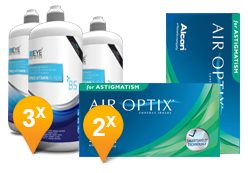 Air Optix Astigmatism & Pro-Vitamin B5 Promo Pack