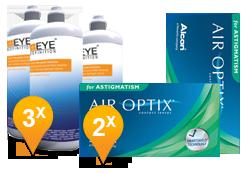 Air Optix Astigmatism & Soft Peroxide MPS Promo Pack