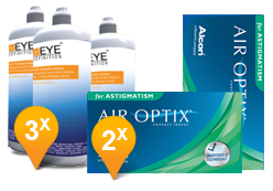 Air Optix Astigmatism & Soft Peroxide MPS Promo Pack