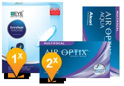 Air Optix Multifocal & EyeDefinition ExtraSept Pack Promo