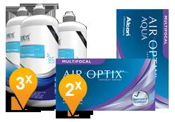Air Optix Multifocal & Pro-Vitamin B5 Pack Promo