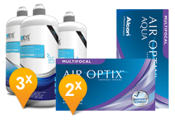 Air Optix Multifocal & Pro-Vitamin B5 Promo Pack