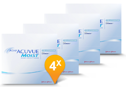 1-DAY ACUVUE® MOIST for Astigmatism halfjaar Promo Pack