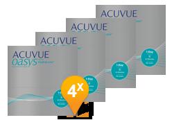 ACUVUE OASYS® 1-Day met HydraLuxe halfjaar Promo Pack