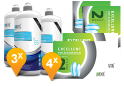 EyeDefinition Excellent Astigmatism & Pro-Vitamin B5 MPS Promo Pack