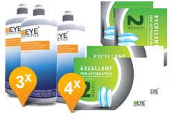 EyeDefinition Excellent Astigmatism & Soft Peroxide MPS Promo Pack