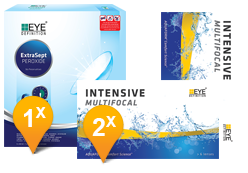 EyeDefinition Intensive Multifocal & EasySept Promo Pack