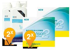 Purevision 2 for Presbyopia & Pro-Vitamin B5 Subscription