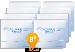 1-DAY ACUVUE® MOIST for Astigmatism jaar Promo Pack