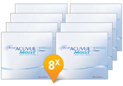 1-DAY ACUVUE® MOIST for Astigmatism jaar Promo Pack