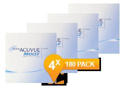1-DAY ACUVUE® MOIST jaar Promo Pack