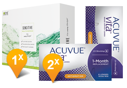 acuvue vita eyedefinition sensitive plus
