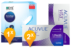 ACUVUE® VITA™ & EyeDefinition Extrasept Promo Pack
