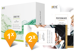 EyeDefinition PERFORMANCE Toric & SENSITIVE Promo Pack
