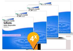 Soflens Daily Disposable Paquet Promo 6 Mois
