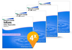 Soflens Daily Disposable Promo Pack