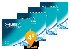Dailies Aquacomfort Plus Paquet Promo 6 Mois
