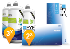 EyeDefinition Classic & Sensitive Plus MPS Promo Pack