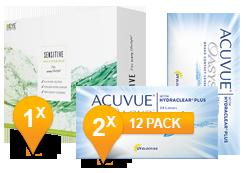 Acuvue Oasys & Sensitive Plus MPS Promo Pack