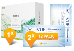 ACUVUE OASYS® & Sensitive Plus MPS Promo Pack