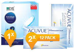 Acuvue Oasys & Easysept Paquet Promo 6 Mois