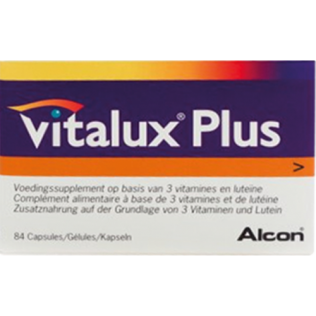 Vitalux Plus 84 Caps