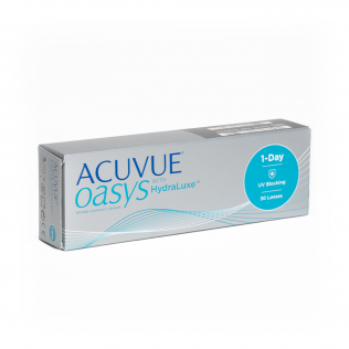 acuvue oasys 1 day with hydraluxe 30 lentilles lentilles de contact en ligne. Black Bedroom Furniture Sets. Home Design Ideas