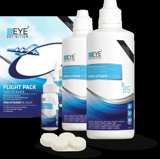 EyeDefinition Pro-Vitamin B5 MPS Flight Pack