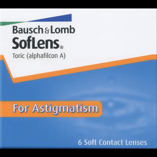 Soflens 66 For Astigmatism (6 lentilles) lentilles de Bausch   Lomb ... 2d301e5b9977