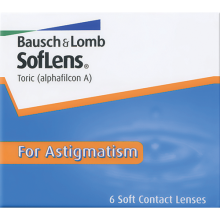 Soflens Toric for Astigmatism