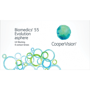 64fcae0cffaf Buy Biomedics 55 Evolution (6 lenses) contact lenses by CooperVision ...